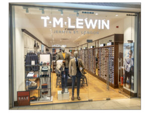 TM Lewin commercial decorators
